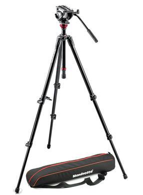 Lightweight fluid video system / aluminum legs / MDeVe