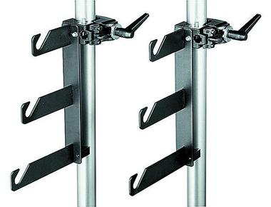 B/P Clamps-2 Holder Hooks(045) Mounted On 2 Superclamps(035)