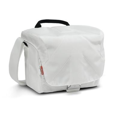 Bella V Shoulder Bag White