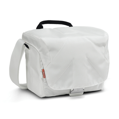 Bella V Shoulder Bag White