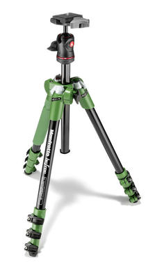 Befree Aluminum Green Tripod with Ball Head