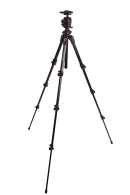 Kit 190CXPRO4 con testa sfera magnesio QR2 - grigio
