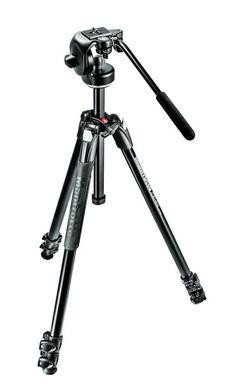 290 XTRA Kit, Alu 3 sec.  tripod with fluid head