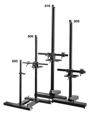 Salon 230 Camera Stand with Single Pedal Caster Lock