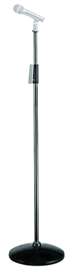 Silver Aluminum Microphone Stand