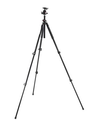 190L tall 3-section aluminium Q90 tripod+496RC2 QR ball head