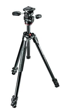290 XTRA Kit, Alu 3 sec.  tripod with 3W head