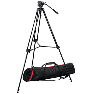 Tripod System with 701HDV Head, 547B Tripod and MBAG100,01
