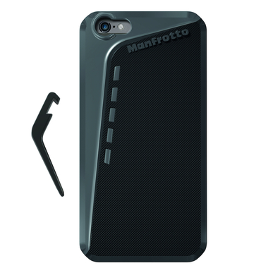 Black Case for iPhone 6 Plus + kickstand