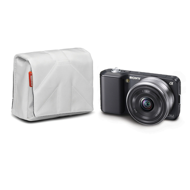 Nano VI Camera Pouch White