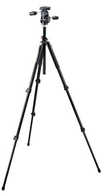 055XPROB Pro Tripod Black with 808RC4 3-Way Head