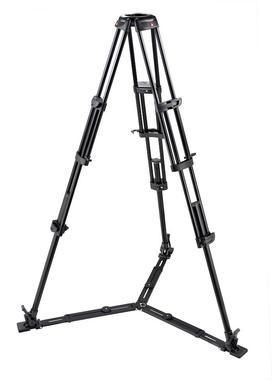 545GB Pro Alu Video Tripod w/100mm/75mm Bowl,Tandem Leg Gr.S