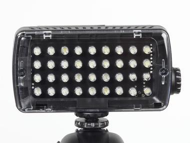 Luce LED - Midi - 36 LED continua (420lx@1m). Dimmer