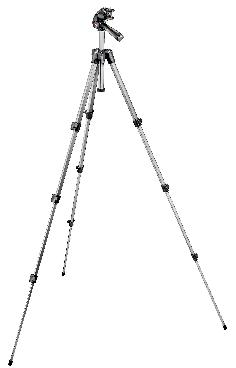 393 Aluminum Tripod with Photo/Video Head, QR