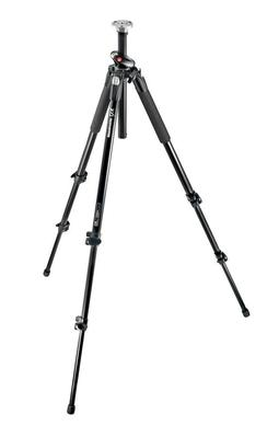 tall 3-section aluminium tripod with Q90 horizontal column