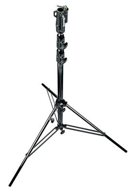 10.9'Blk.Chrome Plated Steel Heavy Duty Stand w/Leveling Leg