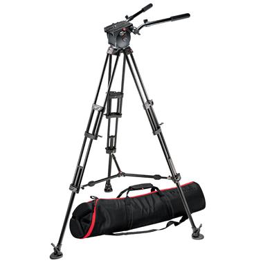 516 Pro Fluid Head+545B Pro Alu Video Tripod+MBAG100P