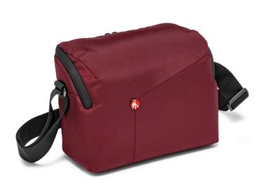 Bordeaux Shoulder Bag for DSLR camera with additional lens