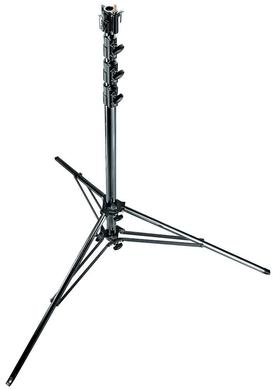 15.6' Black Chrome Super Steel Stand w/Leveling Leg