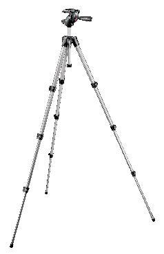 394 Aluminum Tripod with Integrated Photo/Video Head, QR