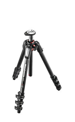 055 carbon fibre 4-section tripod, with horizontal column