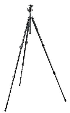 294 Aluminum Kit, Tripod 3 sections with Ball Head QR