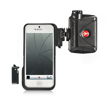 Case for iPhone 5 with connectors and ML240 LED