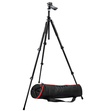 Photo kit with 055XPROB tripod, 322 Head, 80cm padded bag