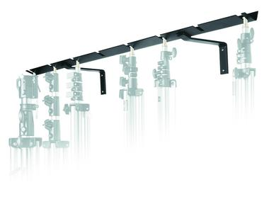 Wall Mounted Stand Holder for 8 Stands