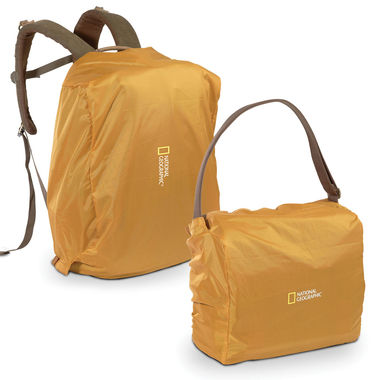 Regenschutz f. kleine u. mittlere Schultertasche u. Rucksack