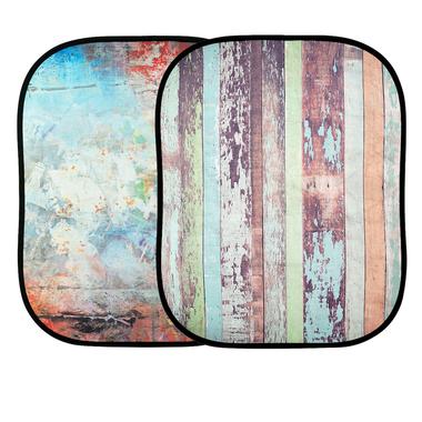 kreativer Hintergrund Zaun/ Mauer 1,2 x 1,5m