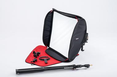 SpeedBox 54 KIT with bracket, stand, tilthead