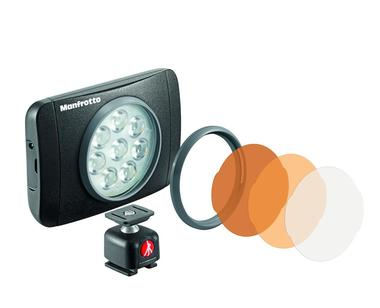 LUMIE SERIES MUSE LED LIGHT & ACCESSORIES - BLACK