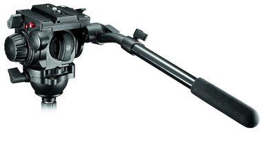 Testa video con semisfera 75mm, 1 leva telescopica