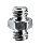Adapter Spigot 3/8''+3/8'' -Works Great w/386B Nano Clamp