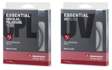 Essential Filter Kit with UV & CPL 58mm