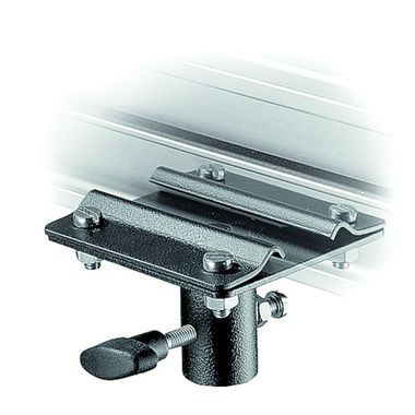 Fixed Bracket on Rail with 16mm Female Attachment