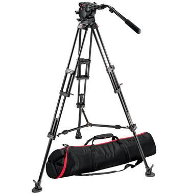 526 Pro Fluid Video Head+545B Pro Alu Video Tripod+MBAG100PN