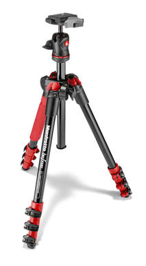 Befree Aluminum Red Tripod with Ball Head