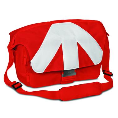 Unica VII borsa a tracolla grande rossa