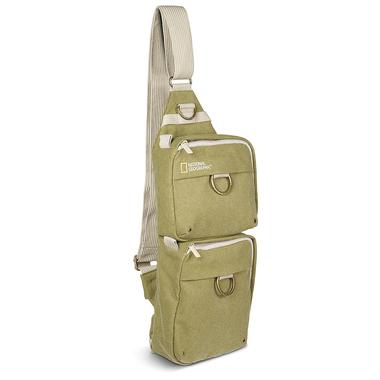 Slingtasche für spiegellose Systemkameras und 2 Objektive