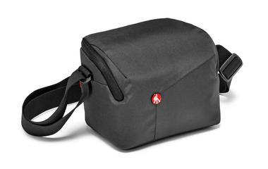 Grey Shoulder Bag for CSC with additional lens