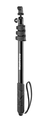 Compact Xtreme Black 2-in-1 (monopod+pole)
