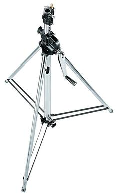 2-Section Wind Up Stand w/Leveling Leg