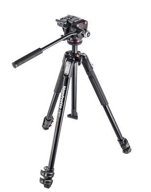 190X kit - alu 3-section tripod + MHXPRO-2W fluid head