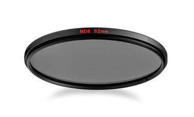 Circular ND8 lens filter with 3 stop of light loss 82mm