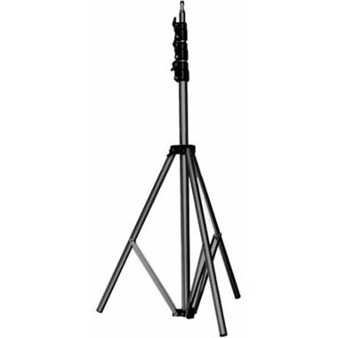 11' Basic Black Light Stand, 5/8'' Stud+015 Top