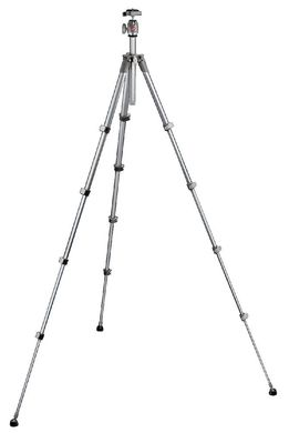 Compact Series tripod with built-in photo head - grey