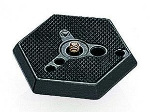 Hexagonal Adapter Plate normal with 1/4'' screw