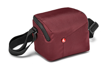 Bordeaux Shoulder Bag for CSC with additional lens